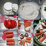 recette Tomates et saumon rose à la ricotta.