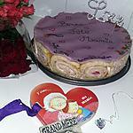 recette Gâteau charlotte royale a la fraise pour la fête des grand mere