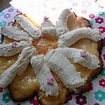 recette Tarte *paquerettes* au citron-chantilly pour ma mamie