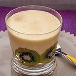 recette Tiramisu aux kiwis et limoncello