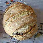 recette Pain maïs et blé