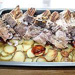 recette Carré de Porc aux pommes de terre et Tomates confites