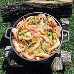 """recette Paella aux fruits de mer et poissons """"maison"""""""