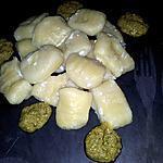 recette Gnocchis fait maison farcis au chévre frais