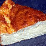 recette Tarte au fromage et cancoillotte (compatible dukan)