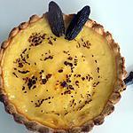 recette Tartelettes à la crème tonka (compatible dukan)