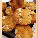 recette Bouchées mignardises amandes coco