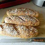 recette Baguettes de pain inratables