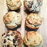 recette Muffins américains