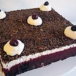 recette Forêt Noire revisitée (sans alcool) de Chloum gourmand