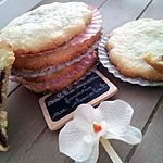 recette Biscuits sablé fait maison fourrés au coeur nutellaté