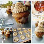 recette Cupcakes bananes et caramel salé
