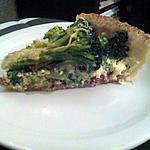 recette Tarte aux brocolis