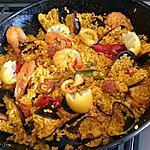 recette Paella au fruit de mer et chorizo