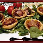 recette Tartelettes au confit d'oignons et Foie gras Labeyrie