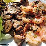 recette Crevettes à l'ail