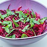 recette Salade de betterave crue et radis noir