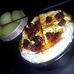 recette Camembert rôti au chorizo et miel