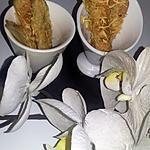recette Gressins feuilletés au fromages
