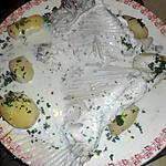 recette Aile de raie au roquefort