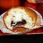 recette muffins au coeur nutella