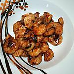 recette crevettes sautées au sésame