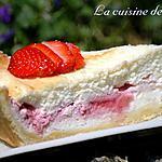 recette Cheesecake au citron et fraises