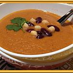 recette Soupe de pois chiches à la marocaine