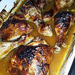 recette Poulet rôti sauce barbecue