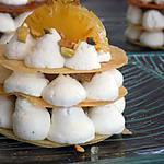 recette Mille-feuille ananas et caramel beurre salé