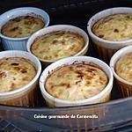 recette Petits flans de poireaux et noix de St Jacques