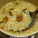recette Soupe de vermicelle à l'ail et à l'oeuf