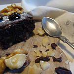 recette Moelleux chocolat noix sans sucre et sans gluten.