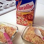 recette Gratin de Floraline jambon fromage