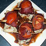 recette Involtinis mozzarella bacon