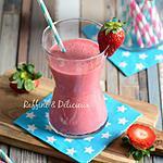 recette Milk-shake à la Fraise