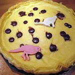 recette tarte à la  semoule