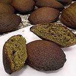 recette Madeleines au thé japonais Matcha de Chloum gourmand