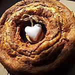 recette Couronne marbré à la créme de marron