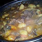 recette Ragoût de boeuf et légumes bourguignon