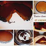 recette Tarte chocolat/caramel