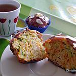 recette Courgettes-carottes façon Cupcakes (Recette sucrée)