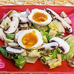 recette Salade de comté aux champignons et aux oeufs