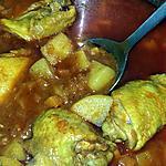 recette Tajine de poulet a la courge