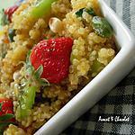 recette ** Taboulé de Quinoa vitaminé version sucrée aux fruits frais**