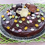 recette Gâteau de Pâques aux amandes et à l'orange