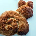 recette Lapin de Pâques brioché
