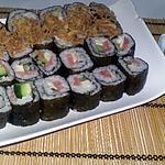 recette Sushis maquis maison