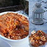 recette Filets de haddock aux haricots coco