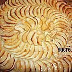 recette Tarte fine aux pommes sans compote